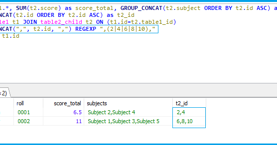 Code Samples: MySQL find_in_set Sith Multiple Search String | MySQL