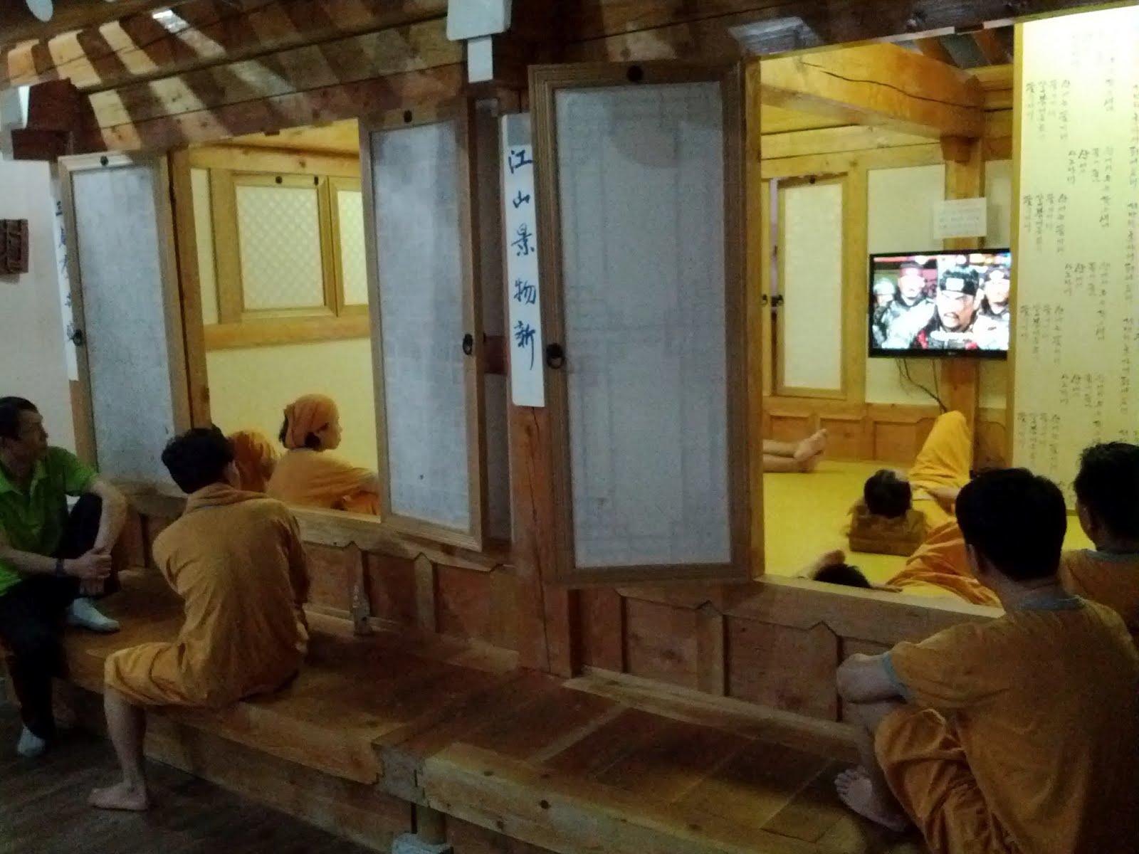 Sparkling Seoul: Korean Sauna aka Jjimjilbang