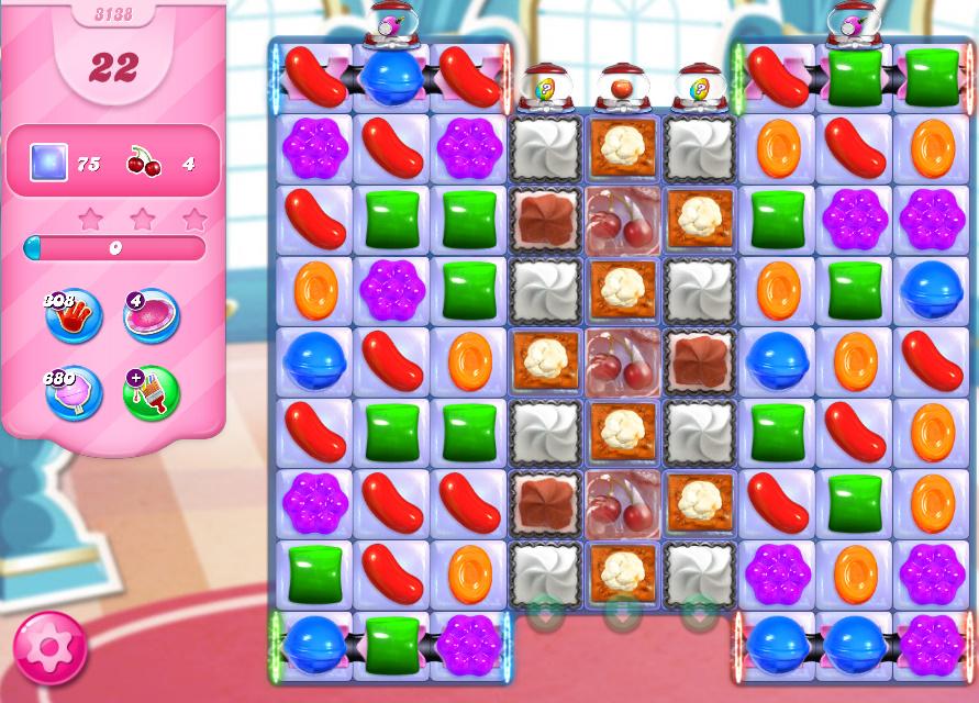 Candy Crush Saga level 3138