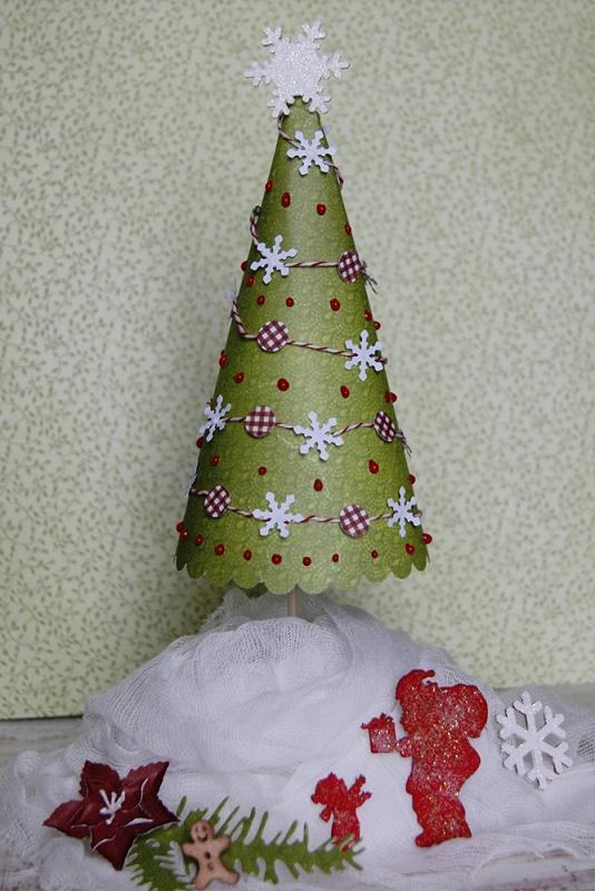 Galeria Papieru Papierowa Choinka Kurs Na Stroik świąteczny