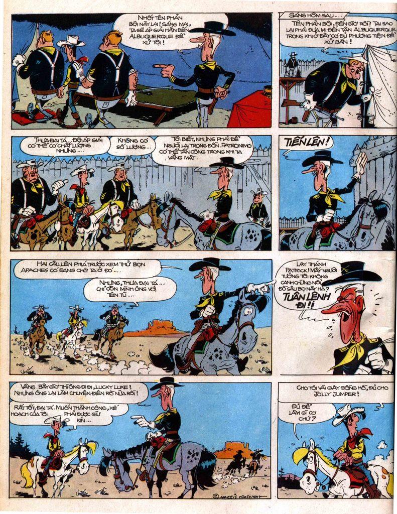 Lucky Luke tap 12 - khe vuc apache trang 16