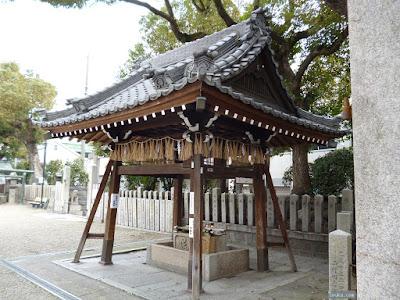 恵美須神社手水舎