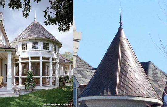 contoh atap kerucut