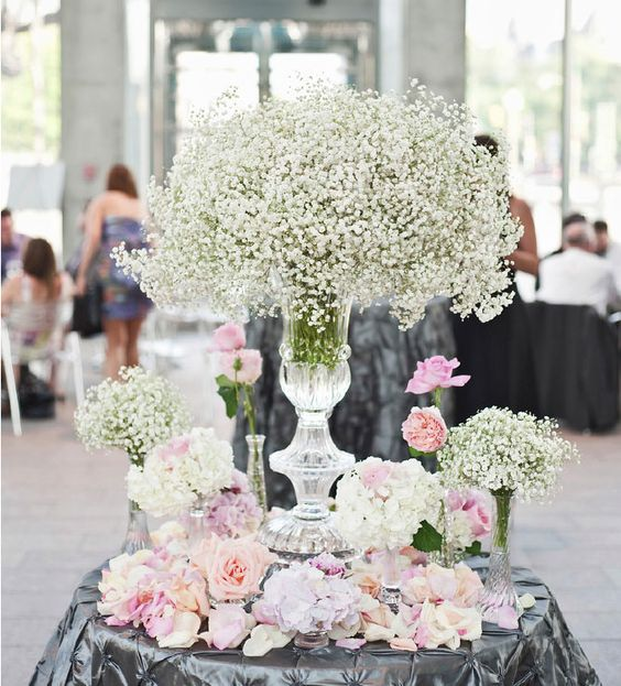 Spring Wedding Centerpiece Ideas: Sonal J. Shah Event Consultants, LLC: Spring Wedding