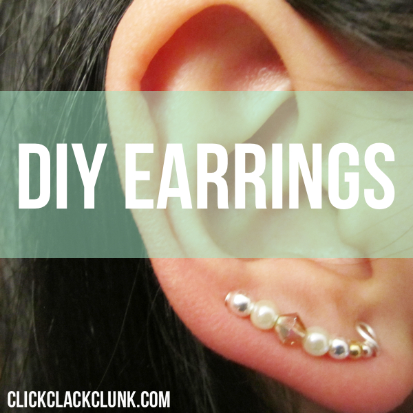 Guest Post: Pretty Beaded Earrings {DIY}