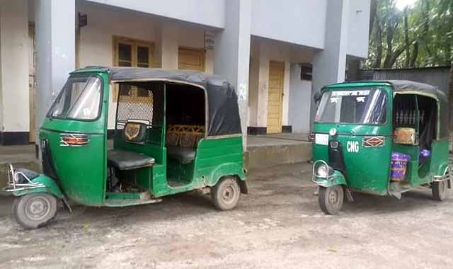CNG driver fined for overcharging in Bakshiganj