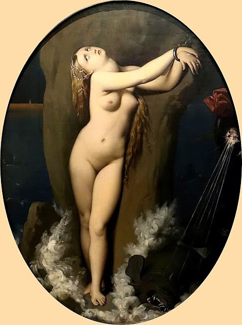 Jean-Auguste-Dominique Ingres - Angelica incatenata