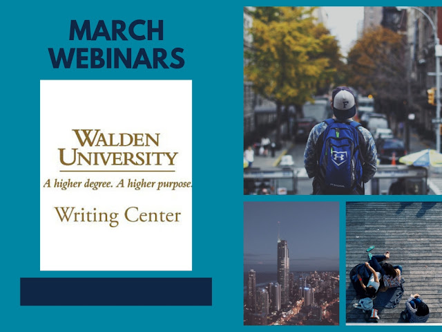 "Image of people with image titled ""March Webinars"