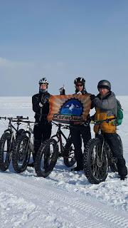 На фатах по зимнему Байкалу