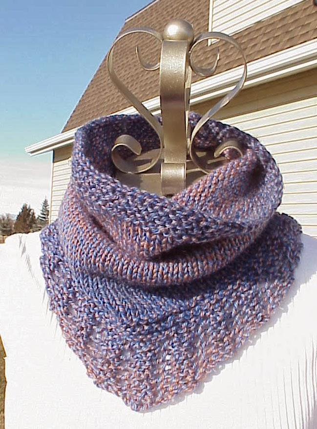 Kriskrafter Free Knitting Pattern Bridger Cowl