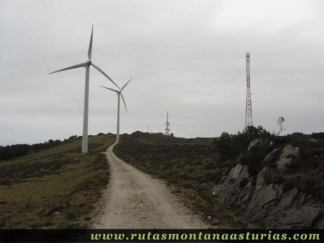 Parque eólico del Penouta