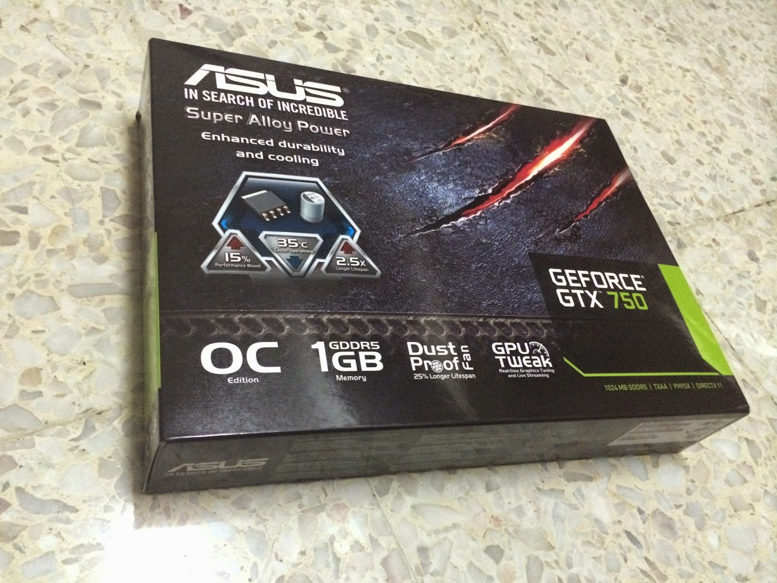 ASUS GTX 750 Performance Review 3