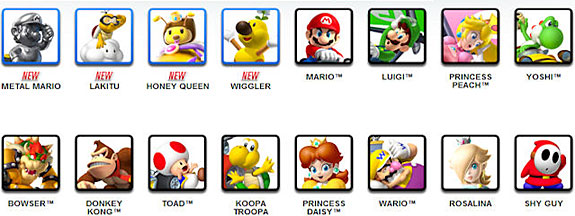 File Blast Cheats To Unlock Characters On Mario Kart 7