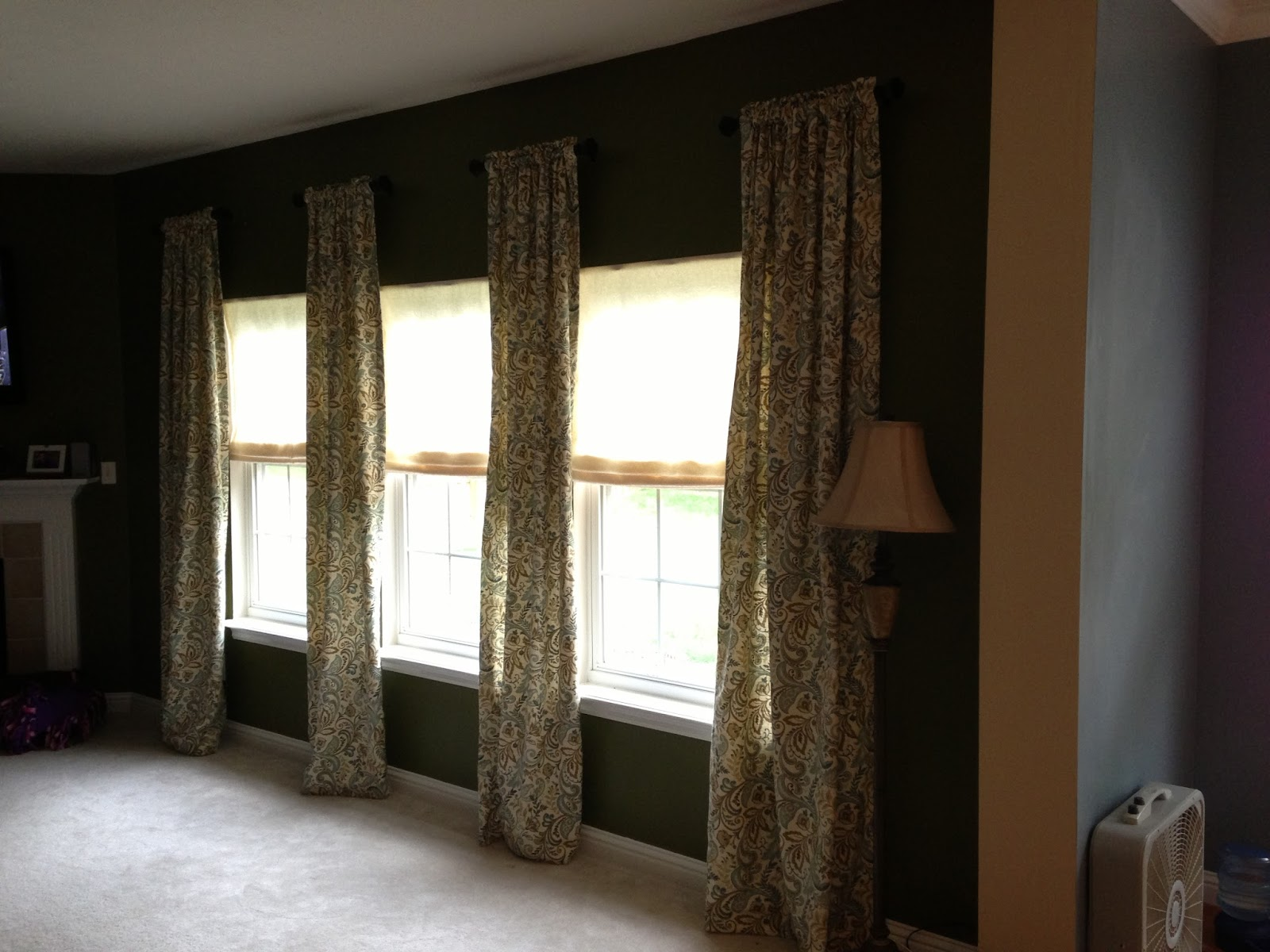 Filthy To Flawless Living Room Color Amp Curtains