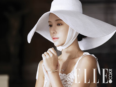 Hwang Jung Eum - Elle Magazine March 2016