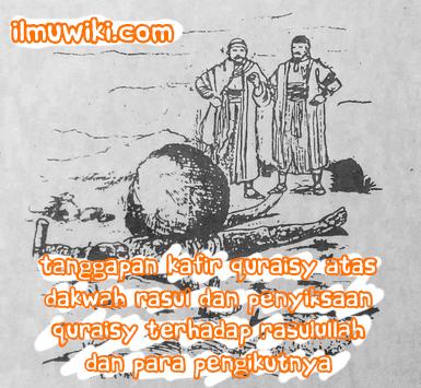 Tanggapan Kafir Quraisy Atas Dakwah Rasul dan Penyiksaan Quraisy terhadap Rasulullah & Para Pengikutnya