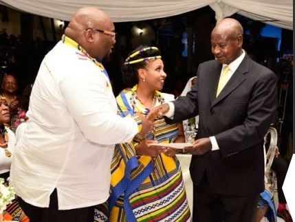South Africa President son weds daughter of former Ugandan Prime Minister