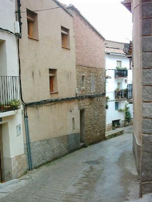 San Roque, Beceite, bajada hacia casa Lola de Garsía