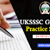 Uttarakhand UKSSSC Group C Practice Set -2