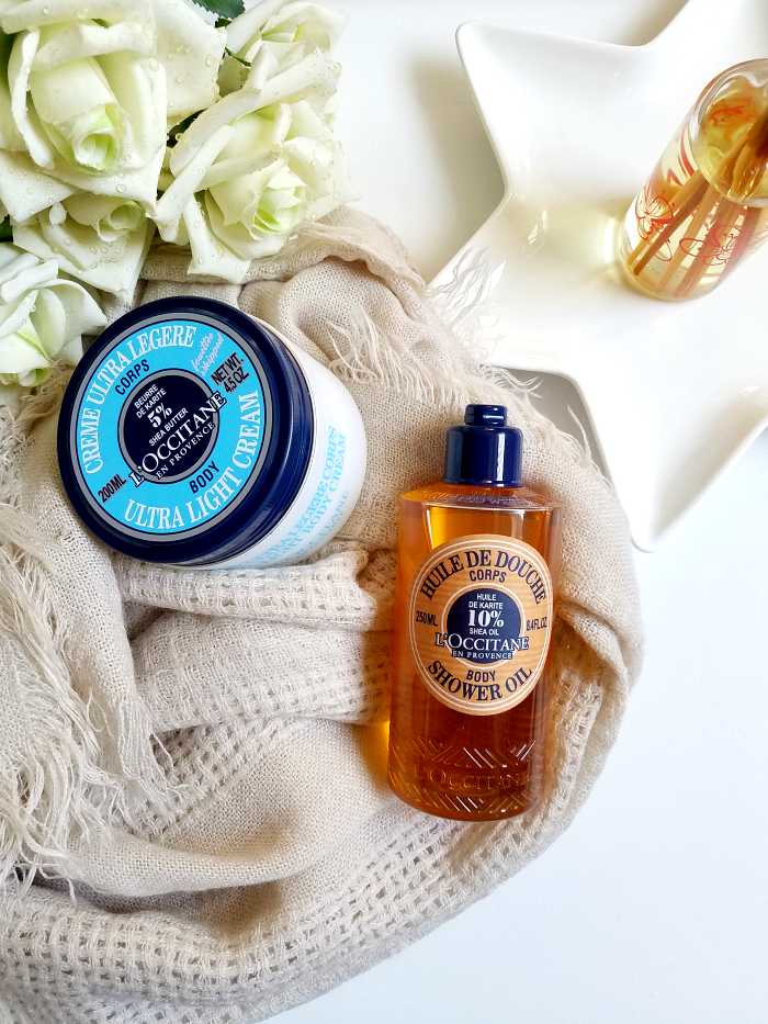 Review: L´Occitane - Karité Body Shower Oil &  Ultra Light Body Cream
