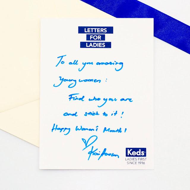 Letter from Kai Honasan
