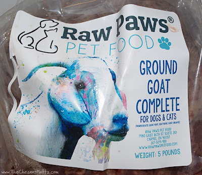 Ground Goat Complete raw diet for dogs and cats