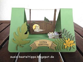 Step karte mit Stampin up stempelset stille momente von stampin up demonstratorin susanne mcdonald
