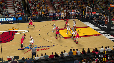 NBA 2K14 Custom Scoreboard Design [MOD]