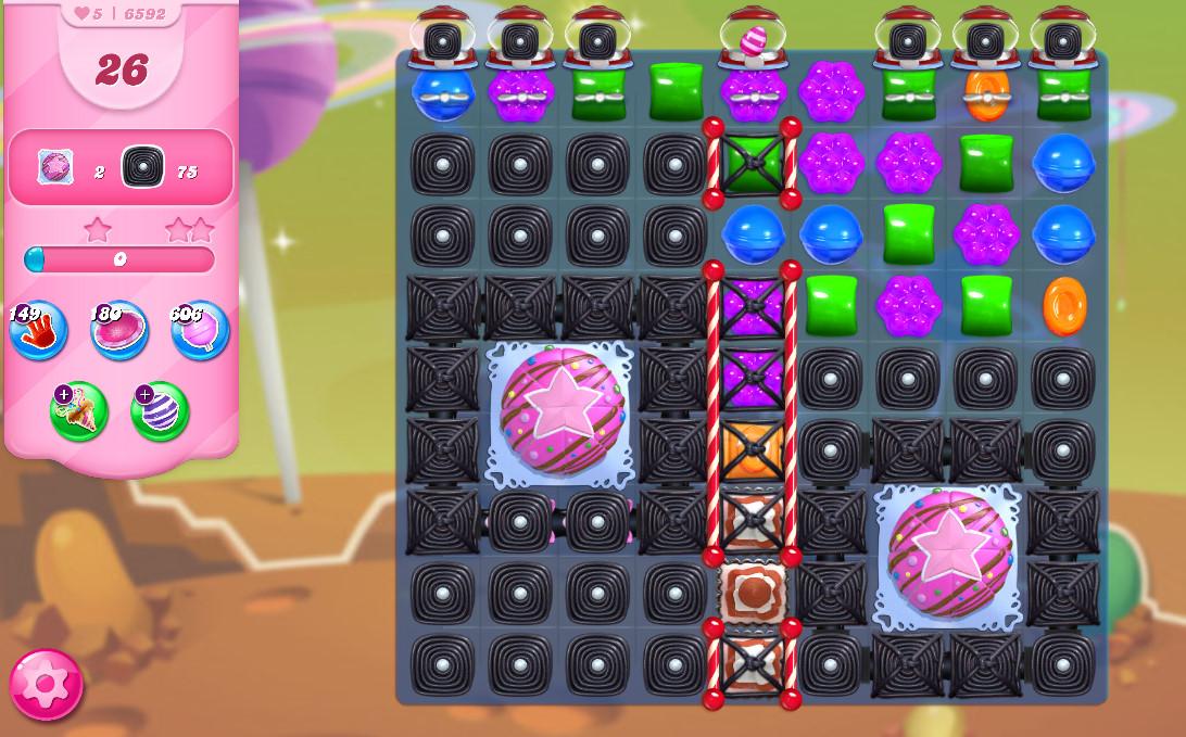 Candy Crush Saga level 6592