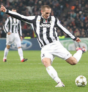 Chiellini has won seven consecutive Serie A titles during a 13-year career with Juventus