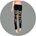 Ripped Pants Skinny-Fit_찢어진 바지 스키니 버전_여자 의상