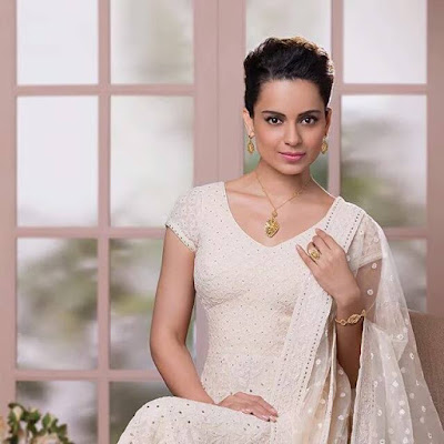 Kangana in Pure Georgette Exclusive Suit