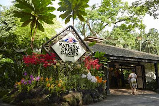 National Orchid gardens.