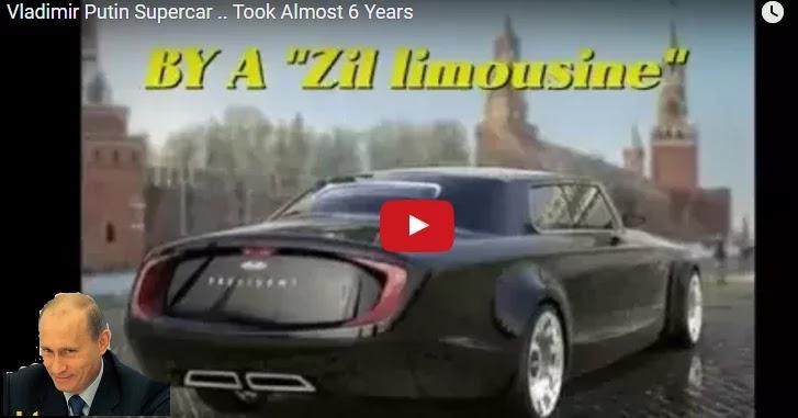 «Έσπασε» όλα τα ρεκόρ: Αυτό είναι το σούπερ αυτοκίνητο του Πούτιν [Βίντεο]