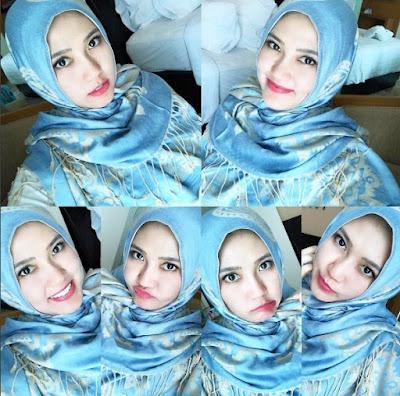 650230 via hijab Foto Via Vallen Terlihat Makin Anggun Saat Berhijab, Awas Naksir!