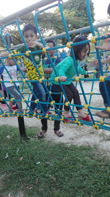 Riadah diTaman Tasik Shah Alam
