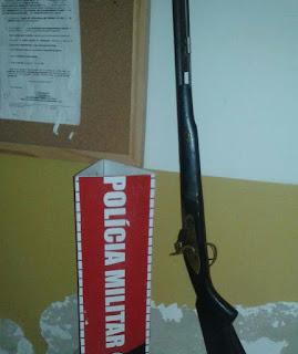 Policiais Militares da 3Cia/7BPM capturam elemento armado em Riachão do Poço