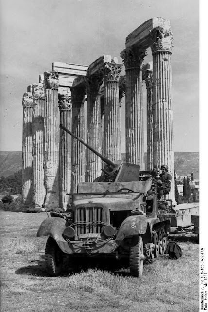 Athens anti-aircraft gun 7 May 1941 worldwartwo.filminspector.com