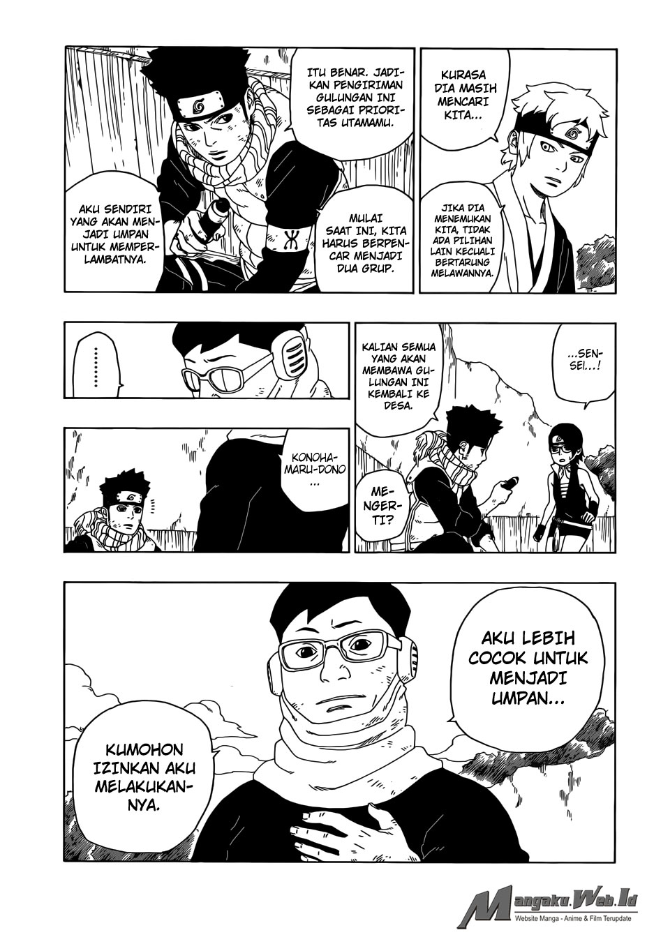 Baca Manga Boruto Chapter 20 Bahasa Indonesia