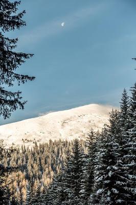 Brenner Grenzkamm Hoher Lorenzenberg Winter