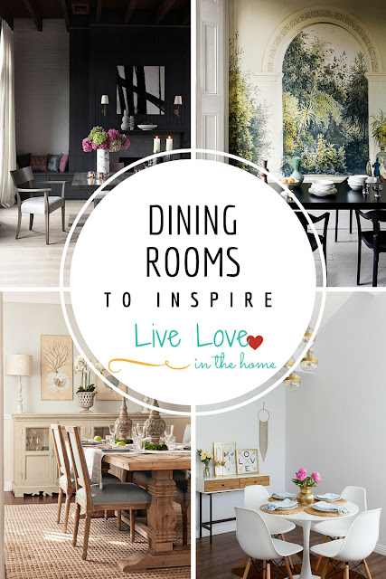 Dining Room Inspiration / Home Decor / Interior Design / by Live Love in the Home
