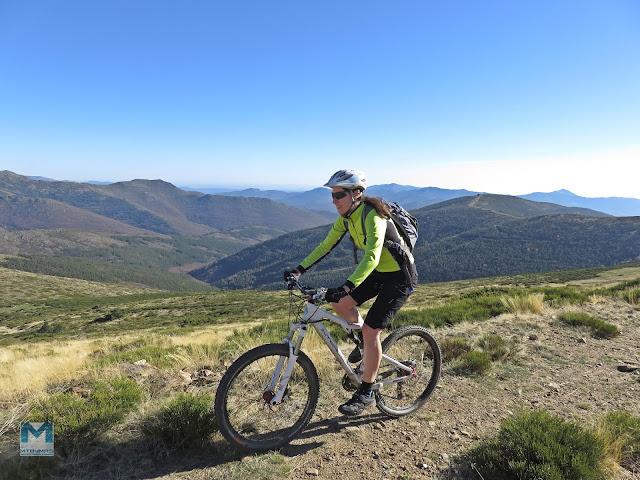 ruta mtb Montejo de la Sierra Tres provincias