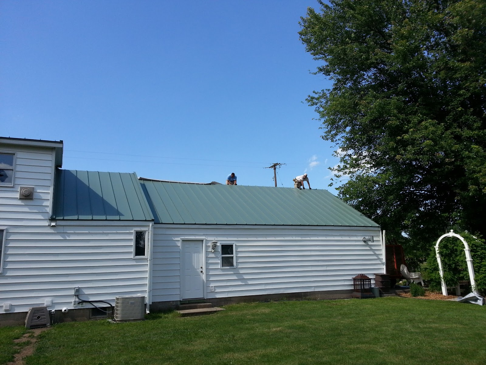 Metal Roofs Of Michigan Vernon Metal Roofing