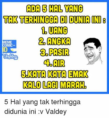 10 Meme Lucu 'Emak' Ini Bikin Cengar-cengar Sendiri, Emak Lo Begini Nggak?
