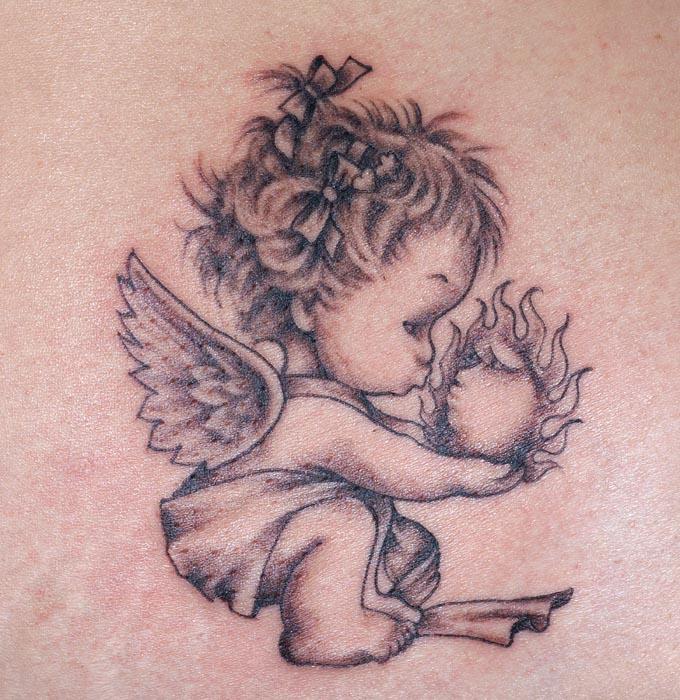 Small Angel Tattoo: Small Angel Tattoos