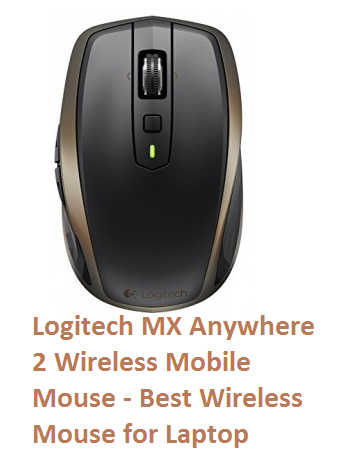 Logitech MX Anywhere 2 Wireless Mobile Mouse - Best Wireless Mouse for Laptop