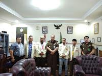 Silaturahim ke Kajari, Pemuda Muhammadiyah Medan Komitmen Bantu Tegakkan Supremasi Hukum