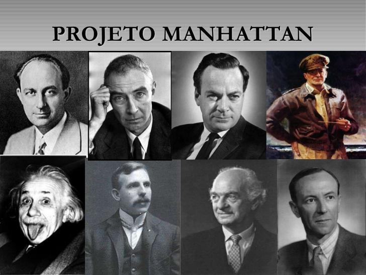 Resultado de imagem para O Projeto de Manhattan