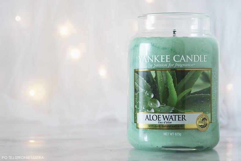 świeca yankee candle aloe water