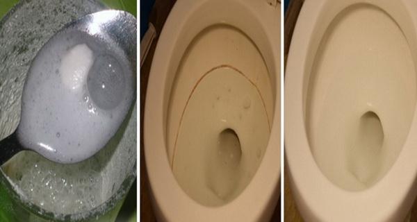 amestecul care curata toaleta
